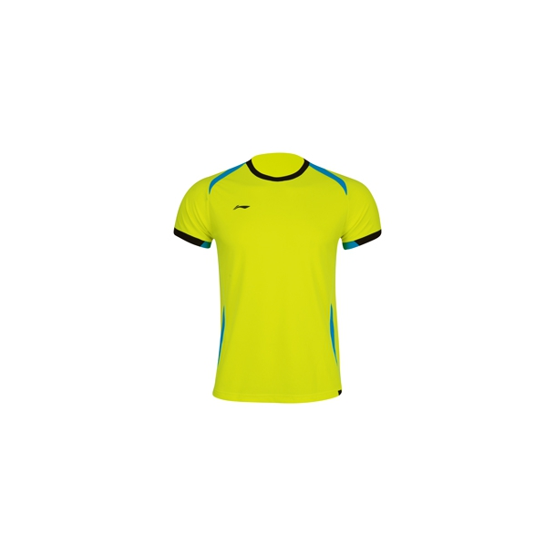 Badminton T-Shirt - Yellow Kids 282
