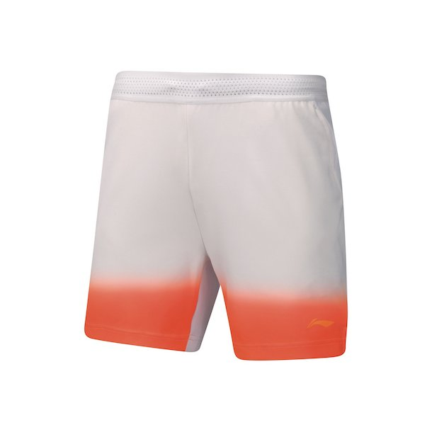 Badminton Shorts - China Open White 005
