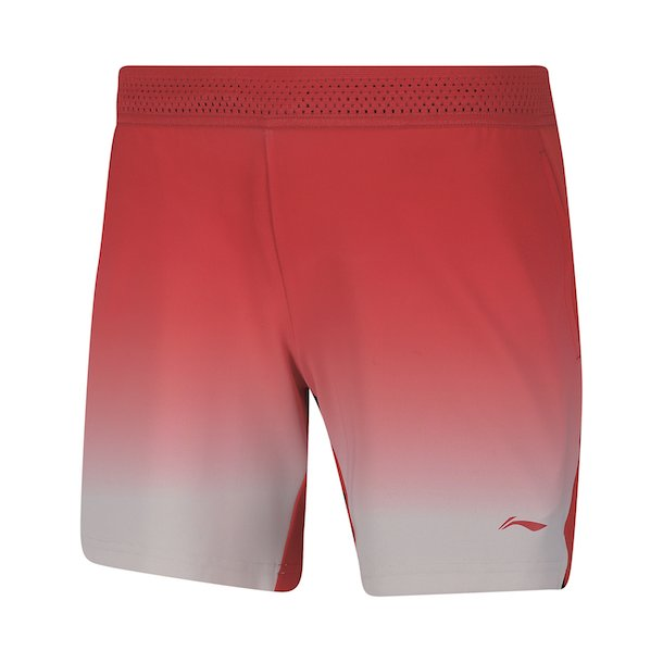 Badminton Shorts - VM 2018 Red W/K 006