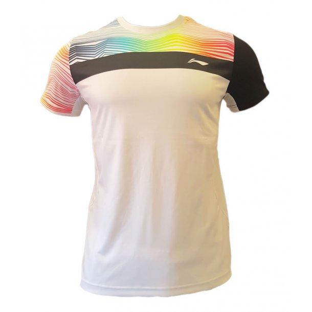 Badminton T-Shirt - ZigZag White 077