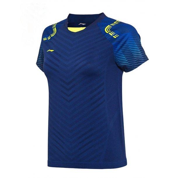 Badminton T-Shirt - All England 2018 E Blue Nation W 002