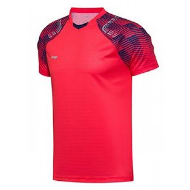 Badminton T-Shirt - All England 2018 Red Nation 031
