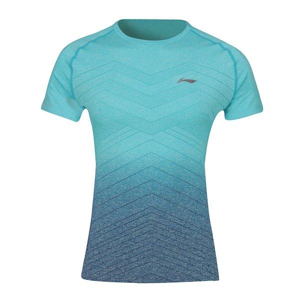 Badminton T-Shirt - Turquoise Dust W 048
