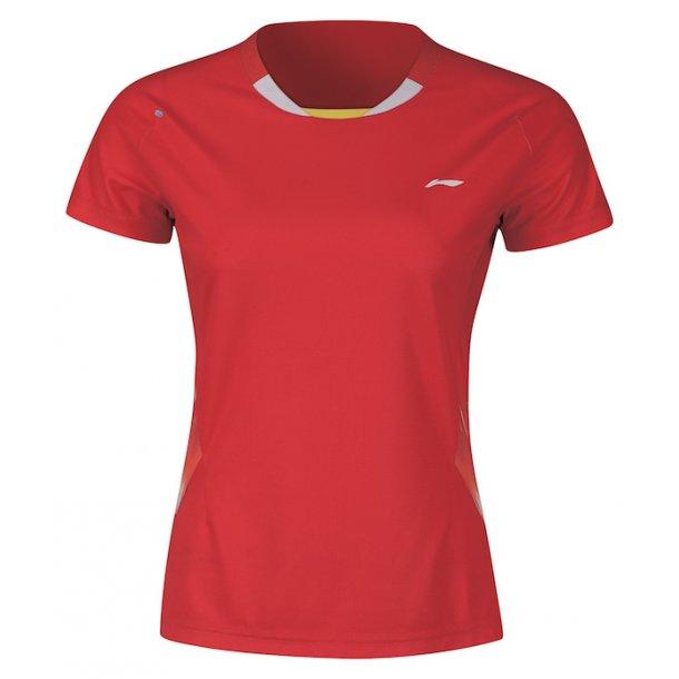 Badminton T-Shirt - VM 2018 Red W/K 072