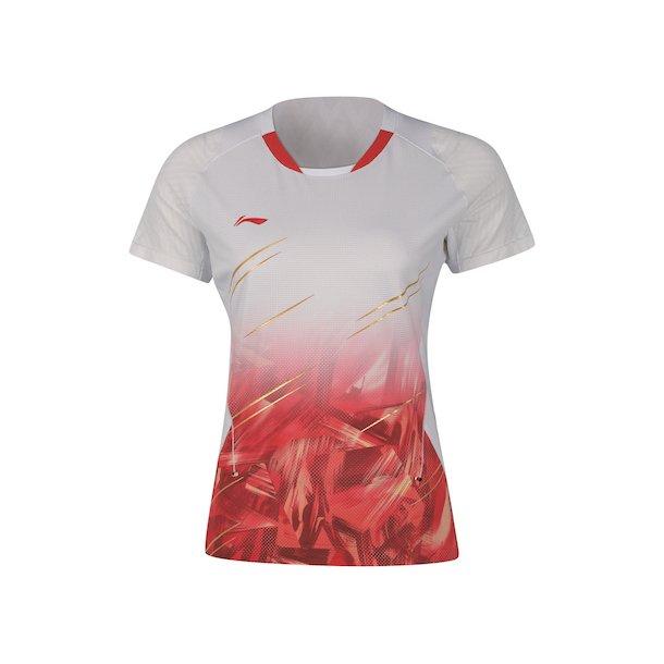 Badminton T-Shirt - Team Indonesia White W 104