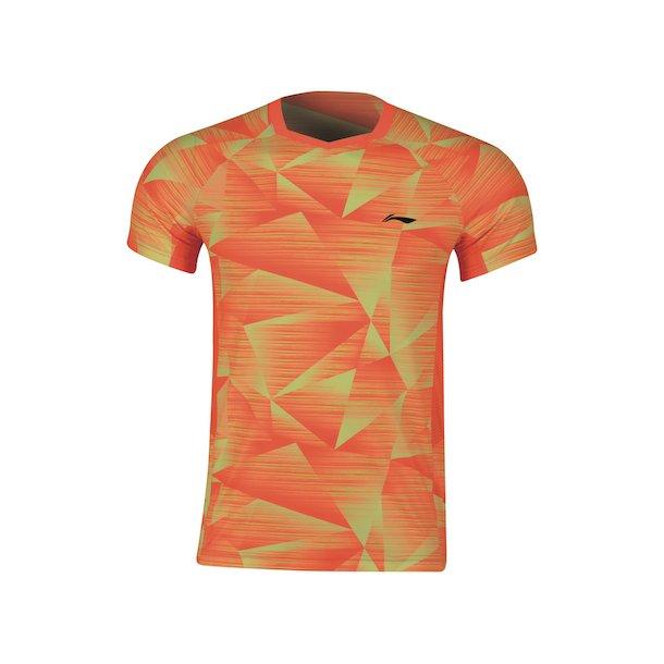Badminton T-Shirt - Pyramids Orange 259