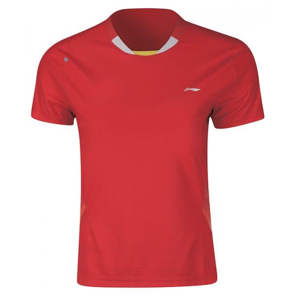 Badminton T-Shirt - VM 2018 Red 261