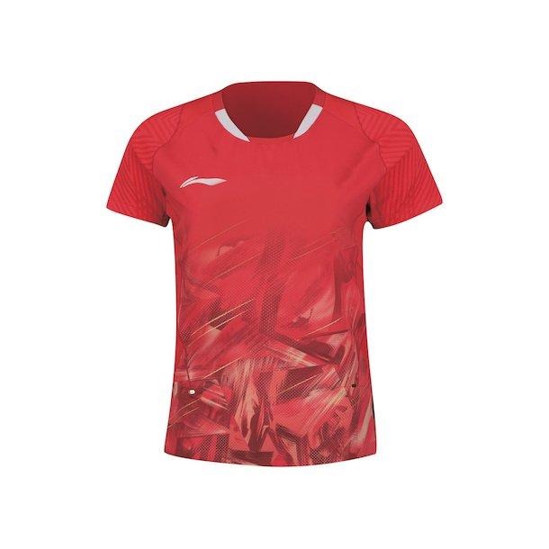 Badminton T-Shirt - Team Indonesia Red 305