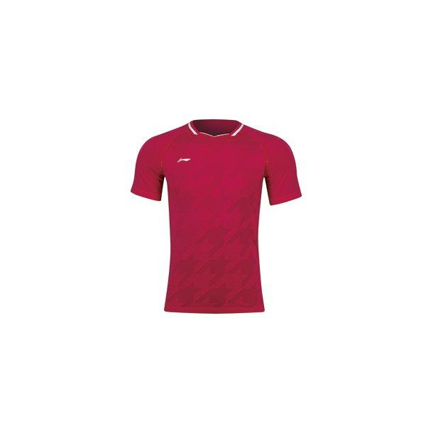 Badminton T-shirt All England 2019 Red E