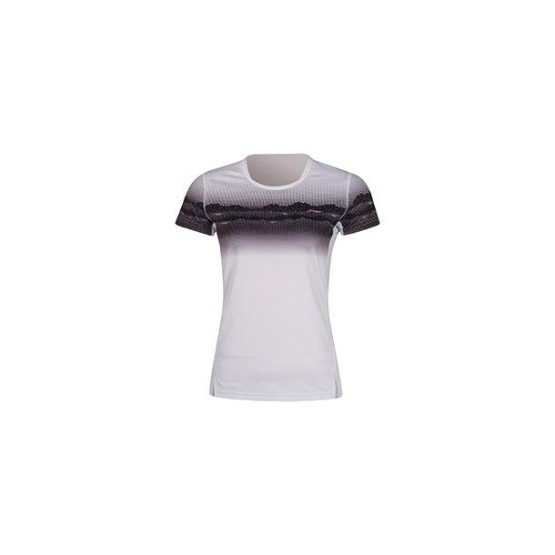 Badminton T-shirt Landscape White W