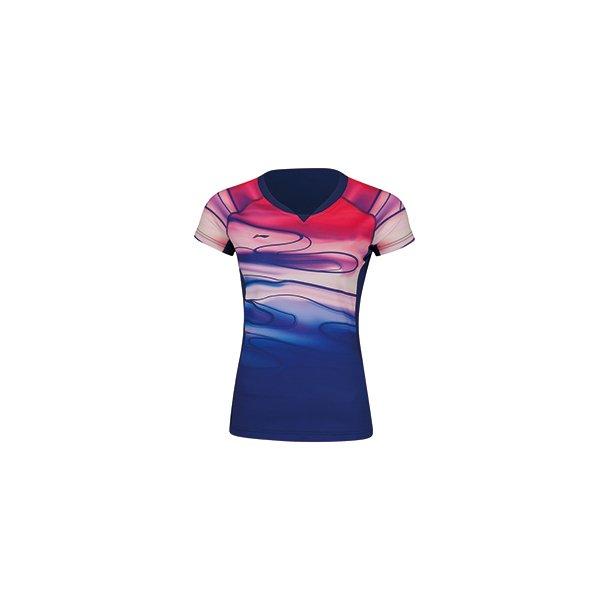 Badminton T-shirt - Sudirman 2019 Blue W 054