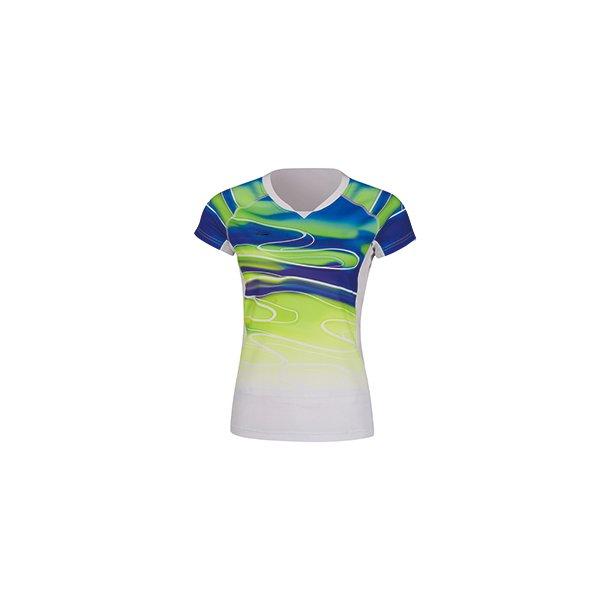 Badminton T-shirt - Sudirman 2019 White/Green W 054