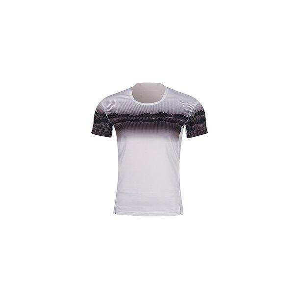 Badminton T-shirt Landscape White