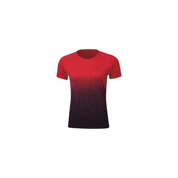 Badminton T-shirt Comfort Red W