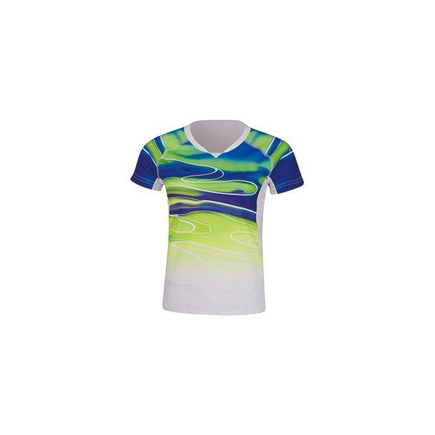 Badminton T-shirt - Sudirman 2019 White/Green 071