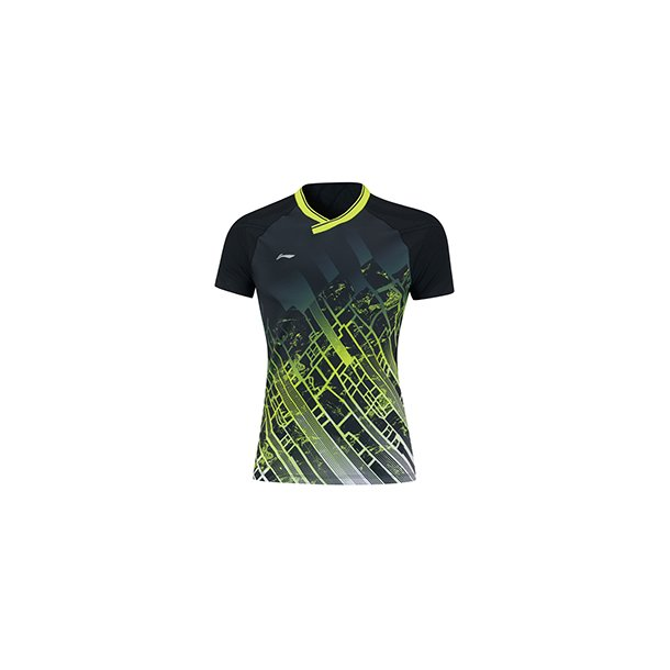 Badminton T-shirt - Black City VM 2019 W