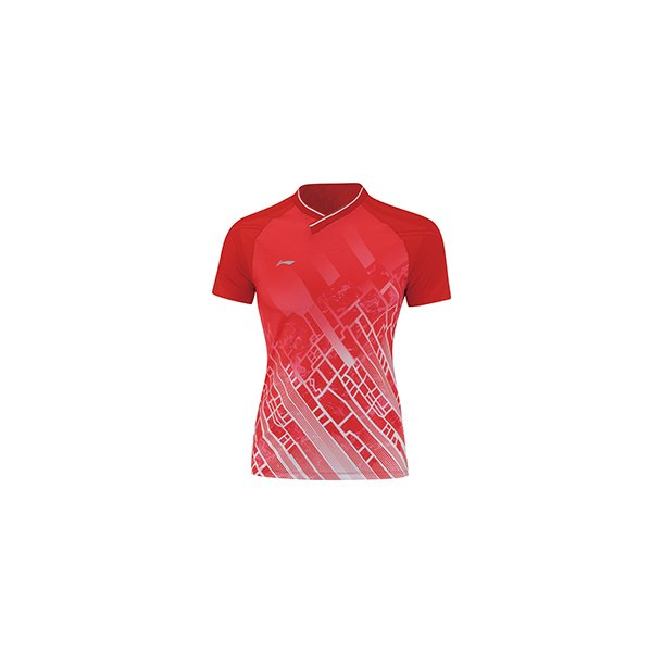 Badminton T-shirt - Red City VM 2019 W