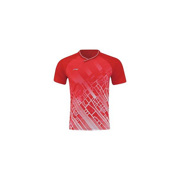 Badminton T-shirt - Red City VM 2019
