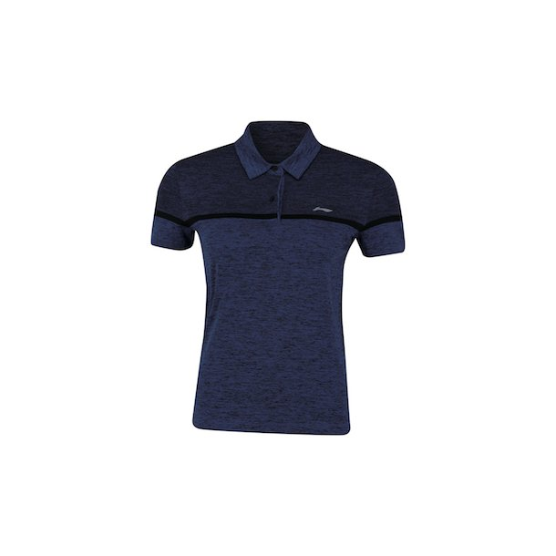 Badminton T-Shirt - Comfort Polo Blue W 152