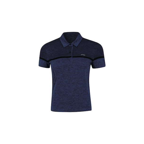 Badminton T-Shirt Comfort Polo Blue 319