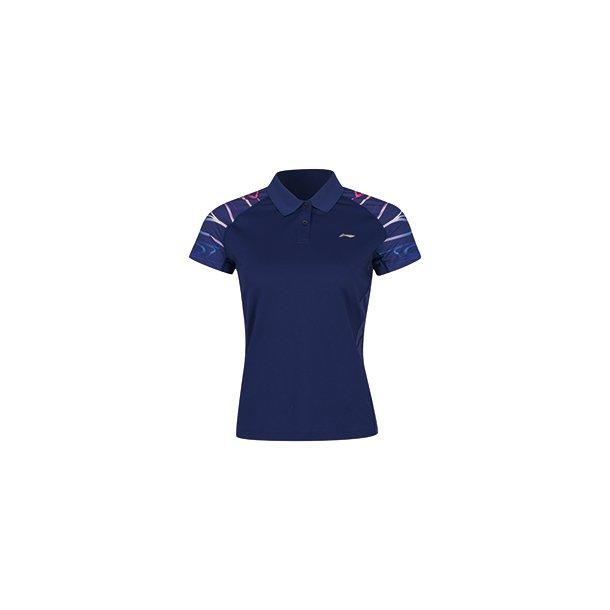 Badminton T-shirt Surdirman Polo Blue W