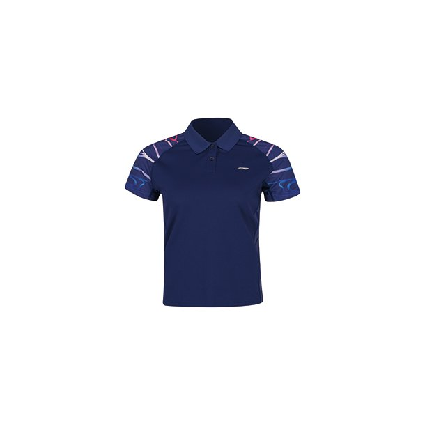 Badminton T-shirt Surdirman Polo Blue