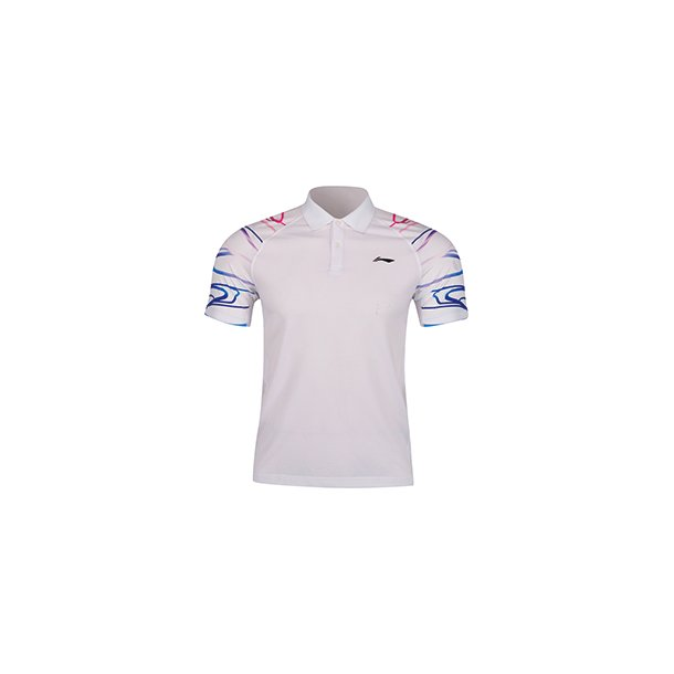 Badminton T-shirt Surdirman Polo White
