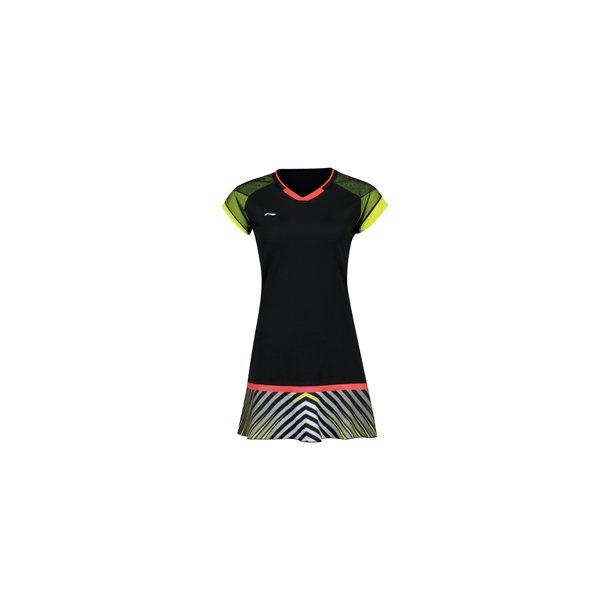 9765c2e5addb Badminton Kjole - Uber Cup 2018 Black 032 - OUTLET - Li-Ning