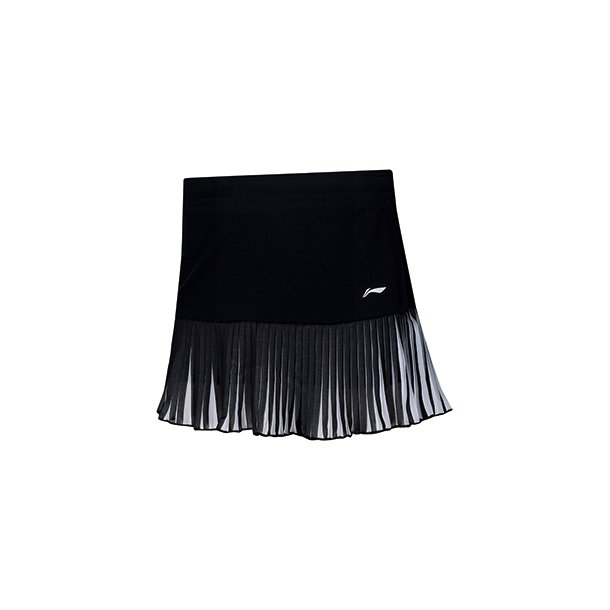 Badminton Skirt - Fold Black/White