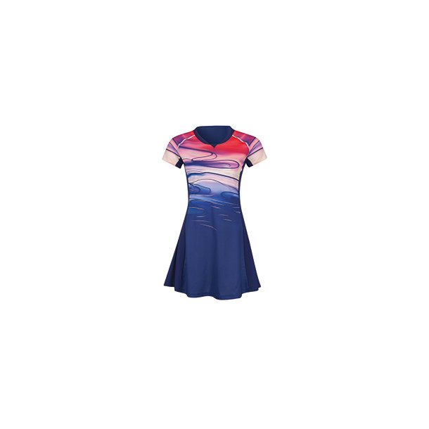 Badminton Dress - Sudirman 2019 Blue 068