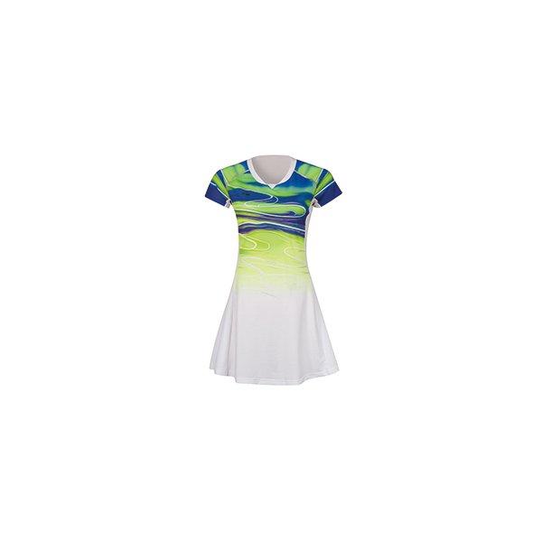 Badminton Dress - Sudirman 2019 White/Green 068