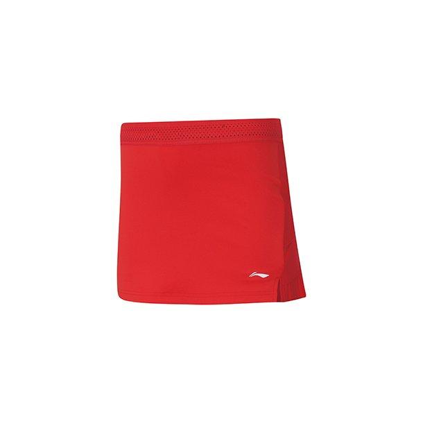 Badminton Skirt - Red Leopard VM 2019