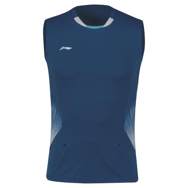 Badminton T-Shirt - China Open Tank Top Blue 293