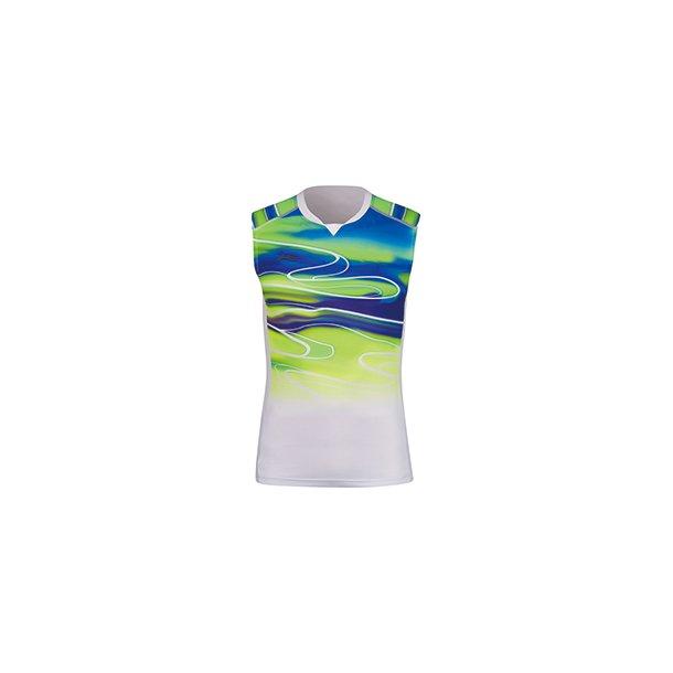 Badminton Tank Top - Sudirman 2019 White/Green 091