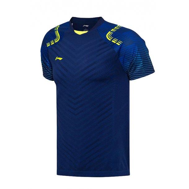 Badminton T-Shirt - All England 2018 E Blue Nation 001