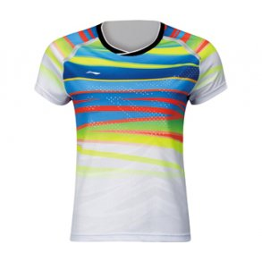 2fd5212653c5 Badminton T-Shirt - VM 2017 E White W 048