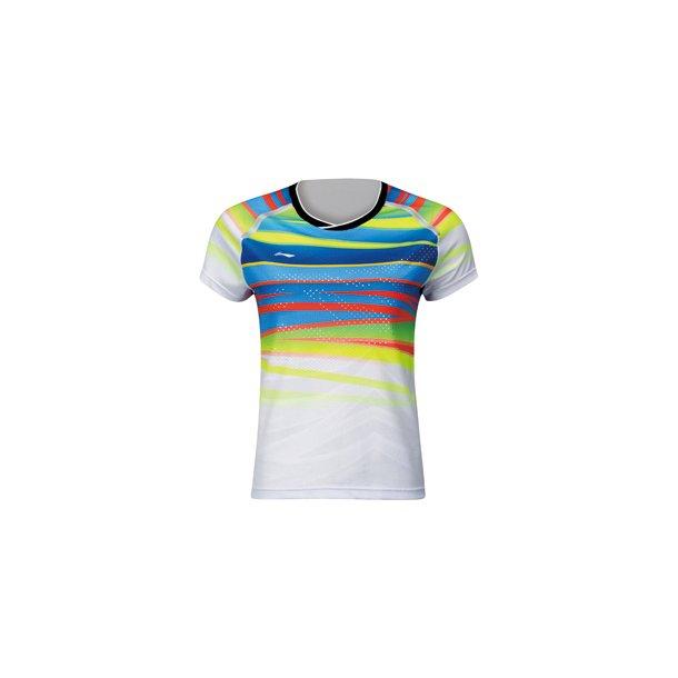 Badminton T-Shirt - VM 2017 E White W 048