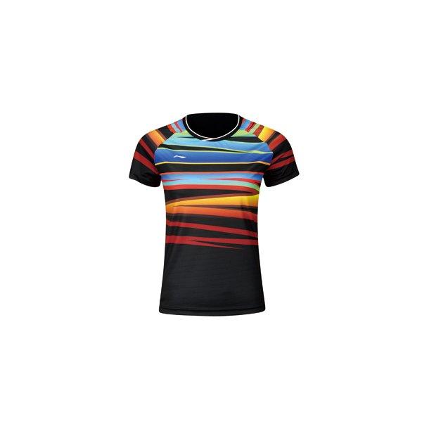 Badminton T-Shirt - VM 2017 Black W 062