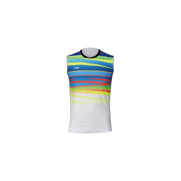 Badminton T-Shirt - VM 2017 Tank Top White 101
