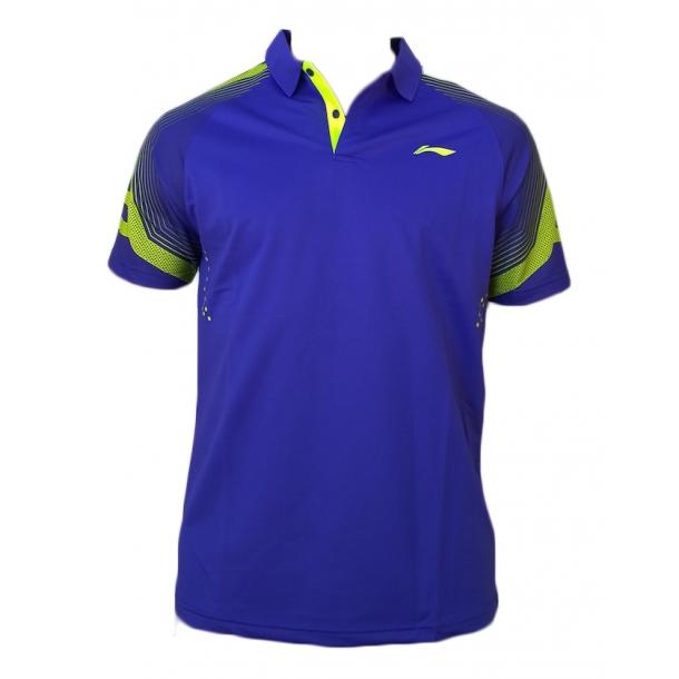 Badminton Polo - Purple Classic 095