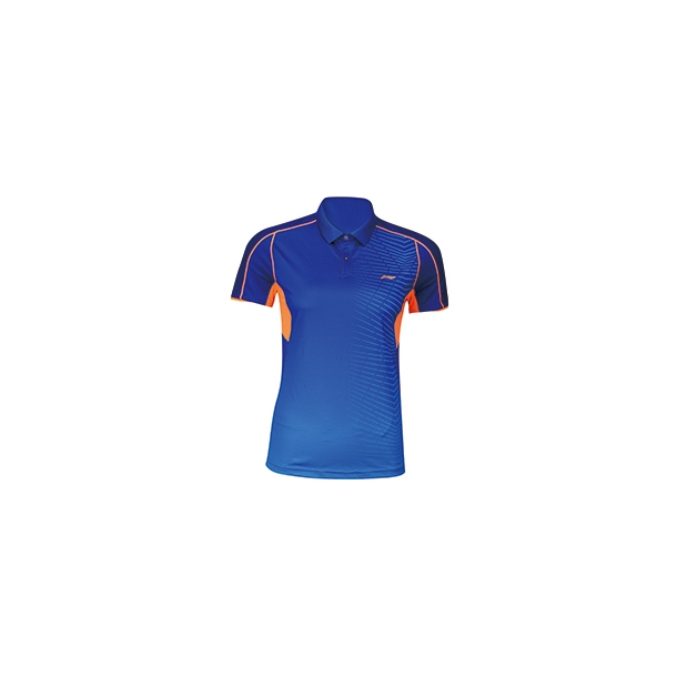 Badminton Polo - Blue/Orange W 172