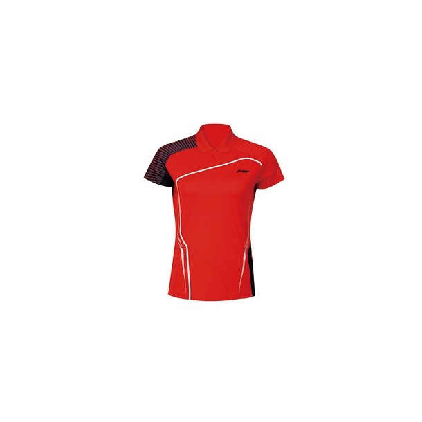 Badminton Polo - Red sticks W 154