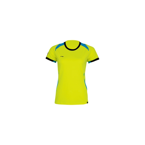 Badminton T-Shirt  - Yellow W 064