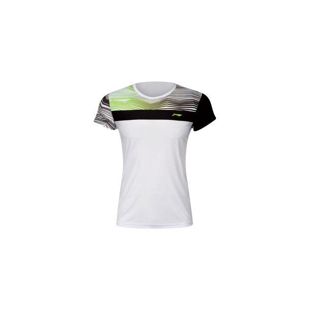 Badminton T-Shirt - ZigZag White W 056