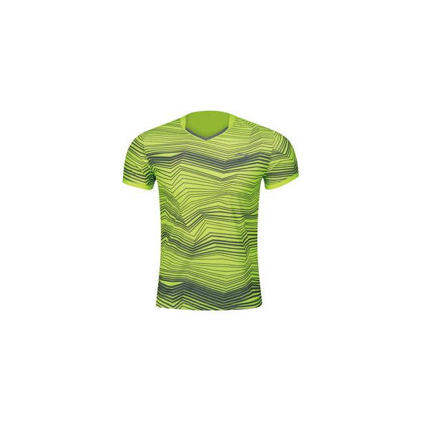 Badminton T-Shirt - Smart Web Flashing Yellow 073