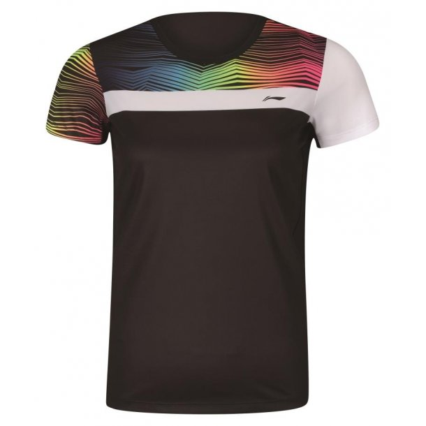 Badminton T-Shirt - ZigZag Black 077