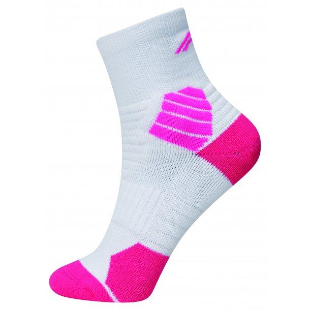 Strømper - Top sok hvid/pink 226