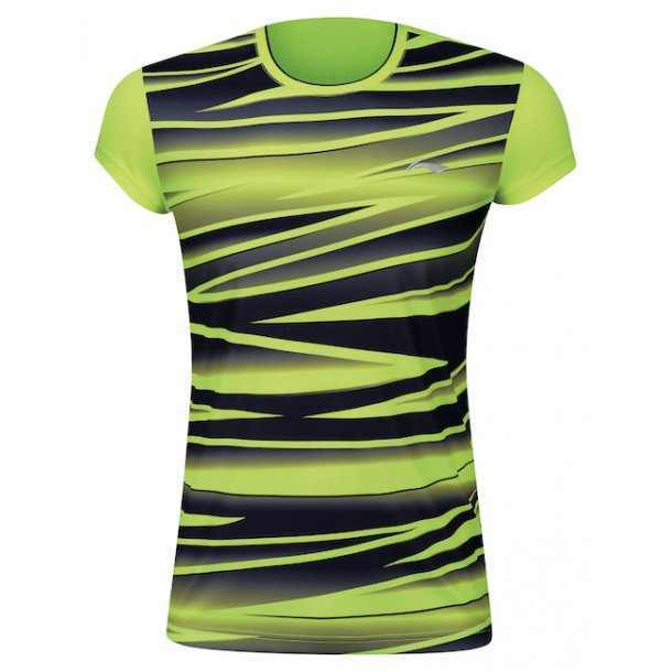 Badminton T-Shirt - BCC Black/Yellow W 006