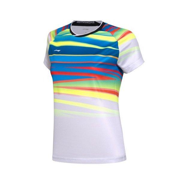 Badminton T-Shirt - VM 2017 White W 062
