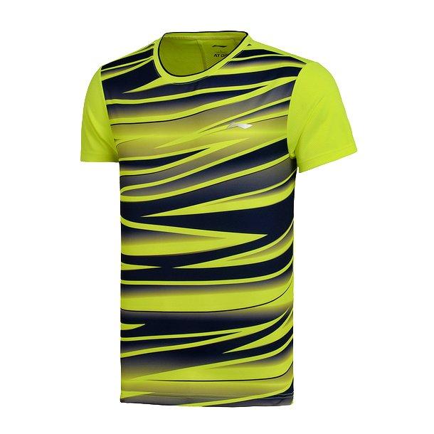 Badminton T-Shirt - BCC Black/Yellow 033